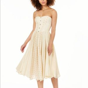 "Free People ""Amanda Midi Dress"" NWT"